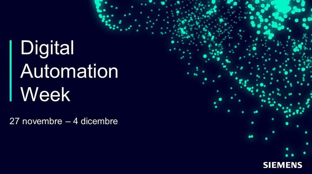 RAM Elettronica: partecipazione alla Siemens Digital Automation Week 2020