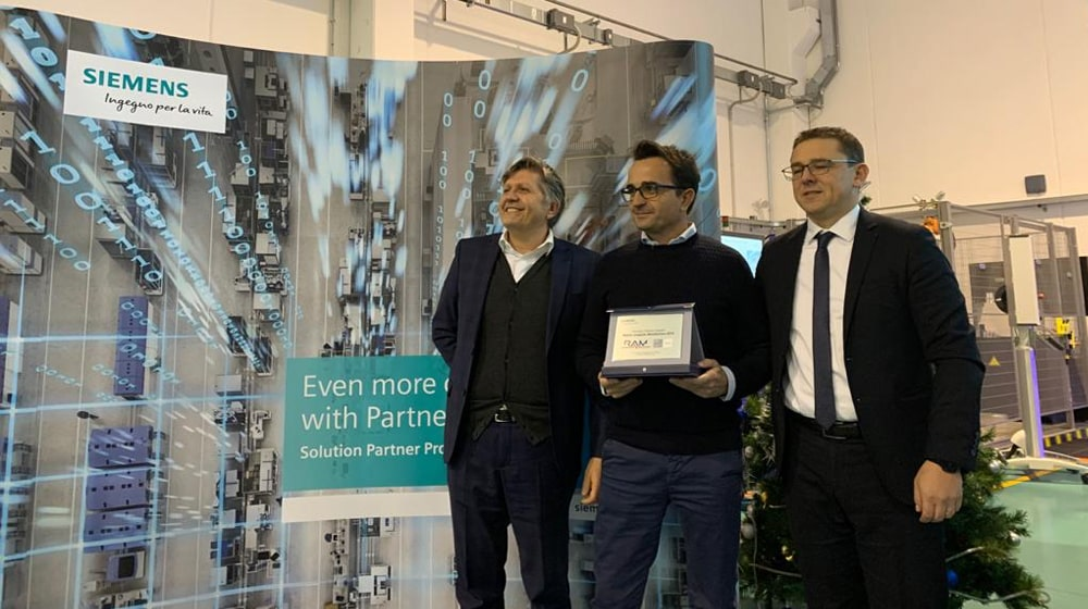 RAM Elettronica: partnership con Siemens