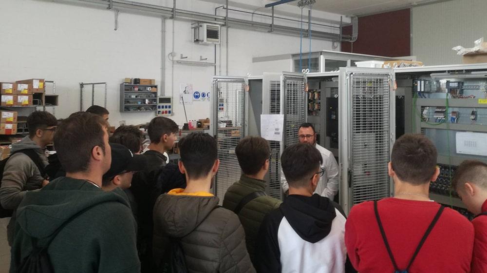 RAM Elettronica: giornata dedicata agli studenti in visita